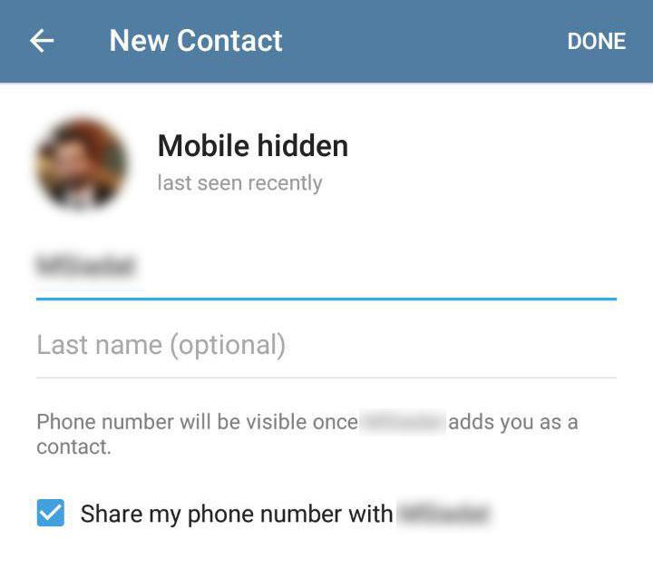 اضافه کردن مخاطبین تلگرام بدون دانستن شماره موبایل و پیدا کردن شماره موبایل افرا در تلگراماز طریق ترفند